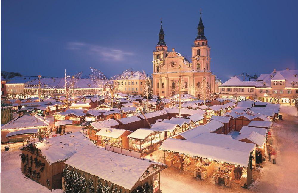 Barocker Weihnachtsmarkt